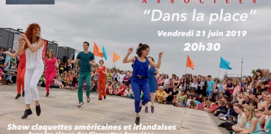Show des Claquettes à Nantes pour la fête de la musique 2019