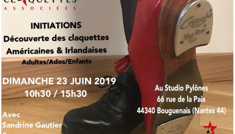 Stage initiation Claquettes Américaines & Irlandaises – 23 juin 2019