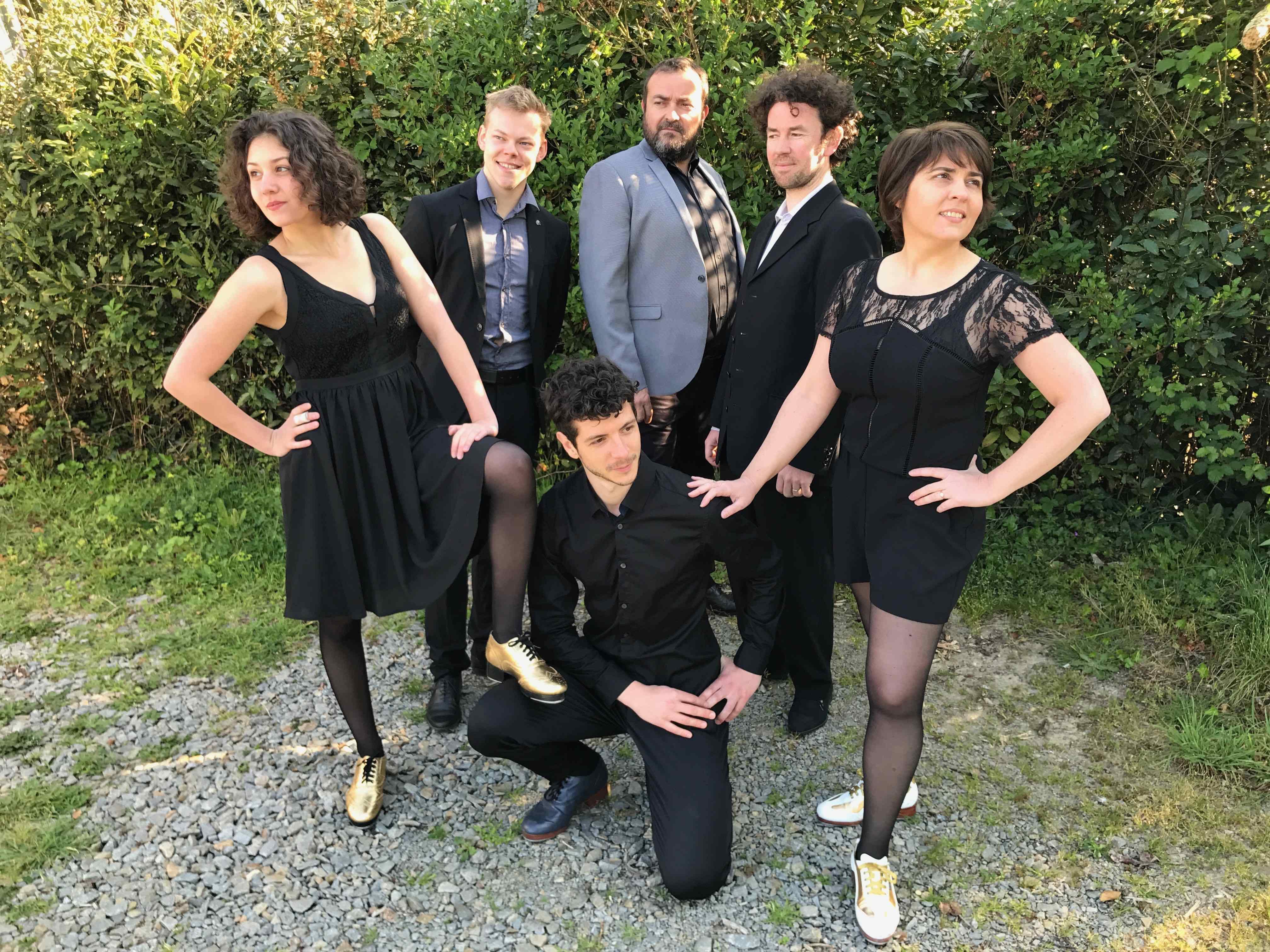 Tap Jazz Makers - le spectacle proposé par Sandrine Gautier - les Claquettes Associées