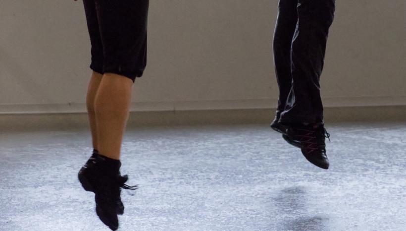 Les chaussures - soft shoes - cours de claquettes irlandaises à Nantes avec Sandrine Gautier