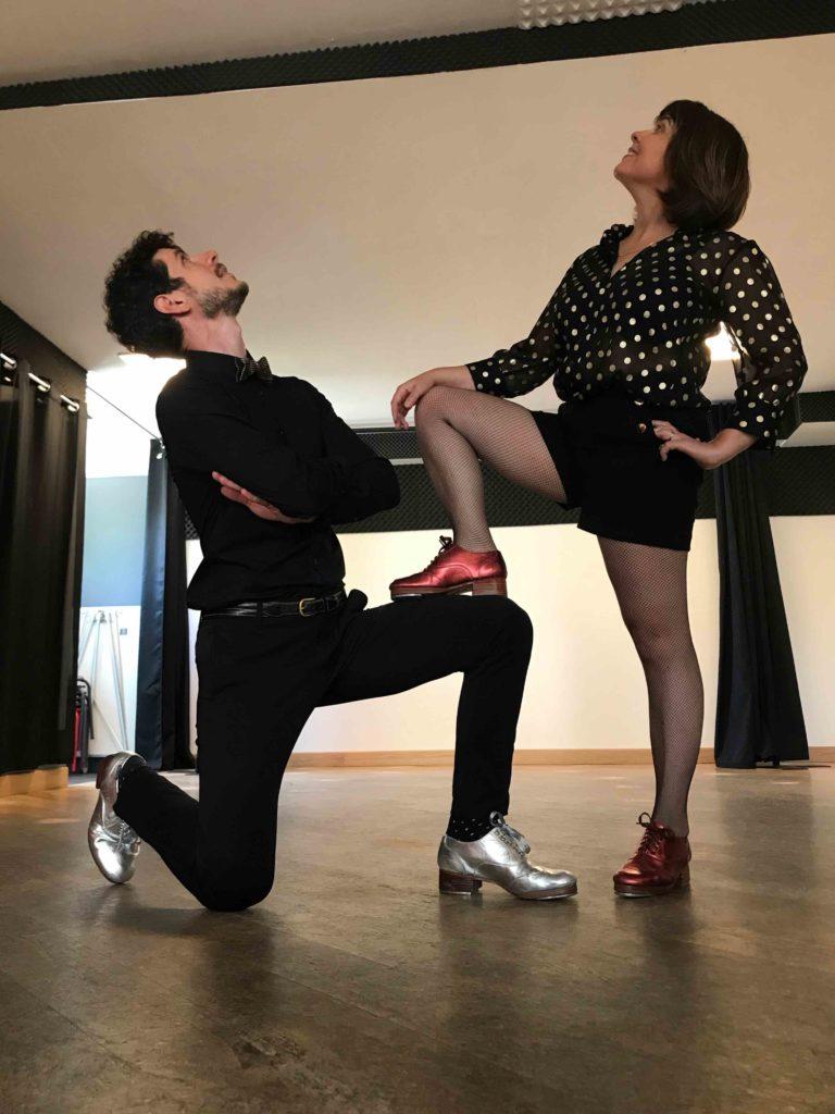 Sandrine Gautier & David Pisani les professeurs-Les Claquettes associées-Nantes